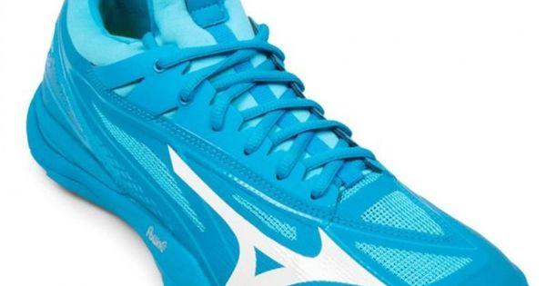 Buty Do Pilki Recznej Mizuno Wave Mirage 2 1 M X1ga185098 Niebieskie Niebieskie Blue Shoes Mizuno Badminton Shoes
