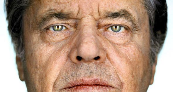 Portrait of Jack Nicholson by Martin Schoeller-My favorite actor along with Anthony