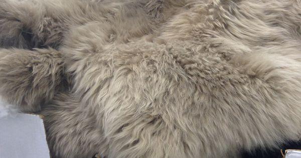 Sheepskin Rug Costco 134 99 Grey Beige Value Approx
