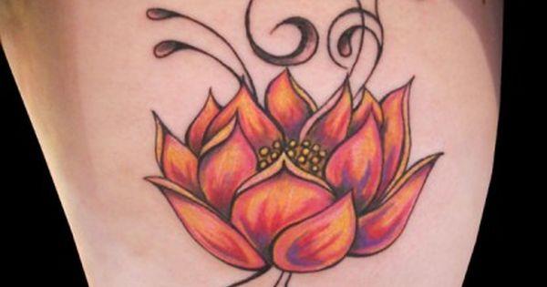 Tatuagem De Flor De Lotus Design De Tatuagem De Lotus Tatuagem
