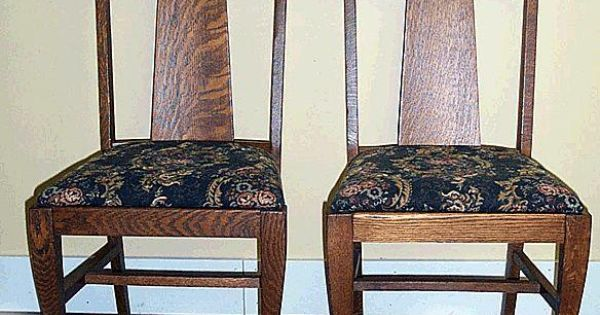 Set Of 6 Oak Paw Foot Chairs | Antique Furniture | Pinterest | Paw, Set Of  And Chairs