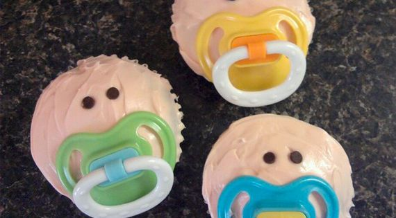 Baby Shower Cupcake idea babyshowerfood babyshower babyshowersnacks
