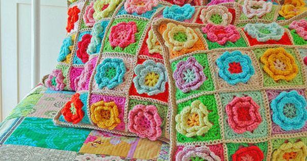 51 free crochet flower patterns doily doilies granny squares