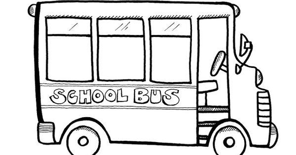 preschool school bus coloring pages | School Bus Coloring Pages | ~PreSchool/Coloring Pages ...