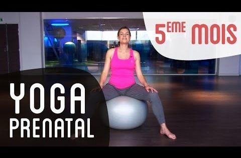 Une s ance de yoga pr natal qui allie respiration - Gym avec une chaise bernadette de gasquet ...