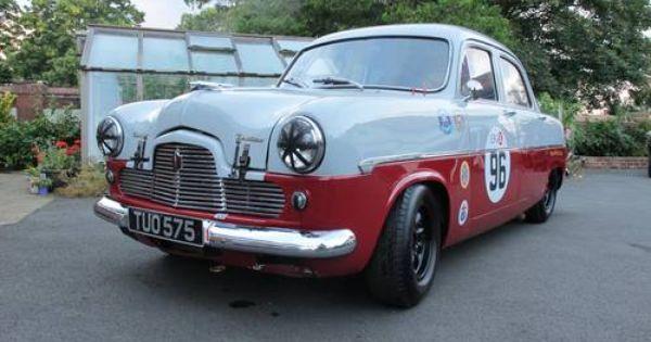 Ford Zephyr Zodiac Mk1 Goodwood Race Car For Sale 1956 Ford