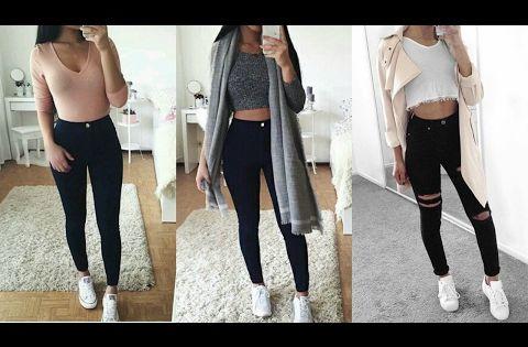 Ropa de Moda Juvenil 2017/Outfits Para Chicas - YouTube | moda | Pinterest | Moda