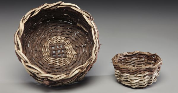 Basket Weaving Using Vines : How to weave a basket from kudzu vine art baskets