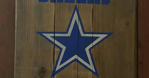 Dallas Cowboys Pallet Sign Furniture Pallet Projects Pinterest Signs Dallas Cowboys And