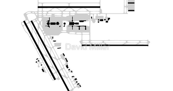 houston airport diagram