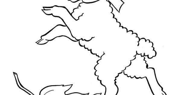 Printable Alphabet Color Page - Letter L