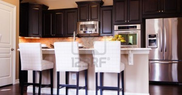 Dark Wood Modern Kitchen 12x14 kitchen layout ideas | dark kitchen cabinets with light wood
