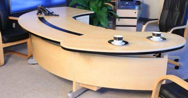 Modern Executive Desk Miami The Miami Designer Desk In Maple Wood Executive Office Furniture