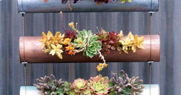 24 opciones para jardines verticales plantas y jard n - Macetas para jardines verticales ...