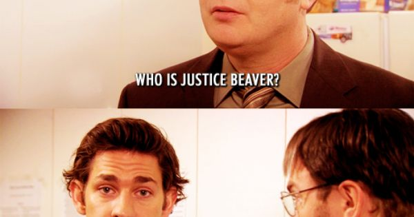 two of my favorite things, the office and justin bieber