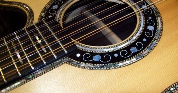 Custom Acoustic Guitar Gallery Guitar Inlay Custom Acoustic Guitars Guitar