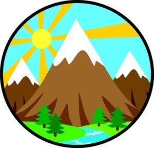 It S A Great Time For A Hike Along The Front Range The Divito Dream Makers Clip Art Mountain Clipart Free Clip Art
