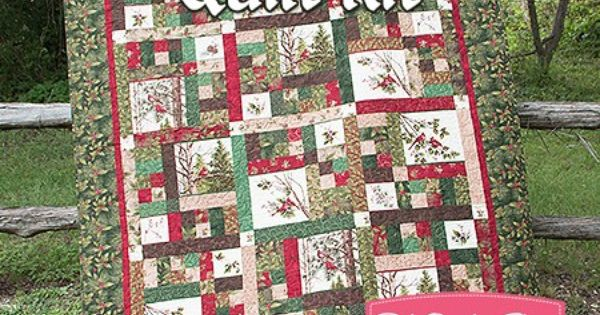 Northern Cardinal Quilt Kit Reservation Featuring Winter S