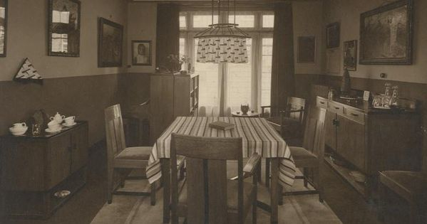 Huiskamer interieur eind jaren twintig interieuridee n for Interieur huiskamer