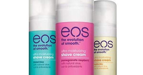how to use eos shaving cream
