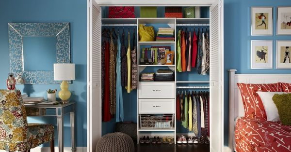 Teen Closet Storage Organize Pinterest Teen Closet