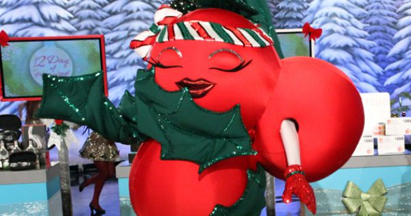 This years mascot: Holly Berry! So adorable....Happy Holidays.