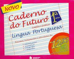 Caderno Do Futuro Livro De Gramatica Cadernos De Matematica