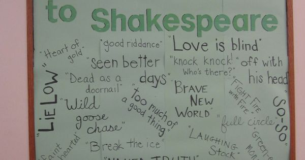 7 Inspiring Kid Room Color Options For Your Little Ones: Shakespeare Bulletin Board