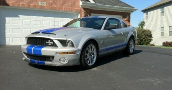 Price Reduced 2008 Mustang Shelby Gt500 Kr 40th Anniv For Sale