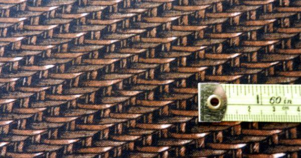 Brown Basketweave Fabric By Half Yard