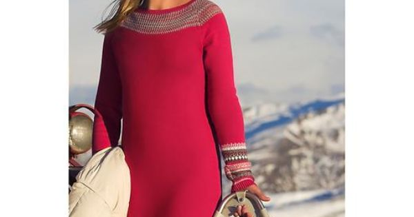 Gap Fair Isle Sweater Dress - Gown And Dress Gallery