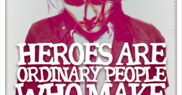 essay on a hero in your life