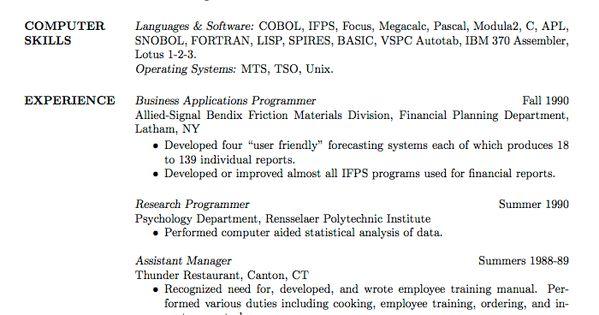 cv psychology graduate school sample http www