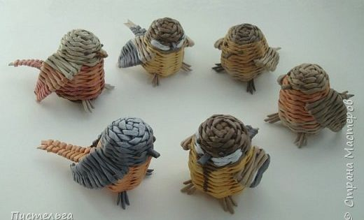 Woven birds | Baskets | Pinterest | Birds, Paper Birds and Crafts