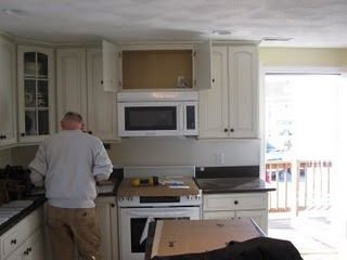 How To Install A Vented Microwave Oven Microwave Vent Hood