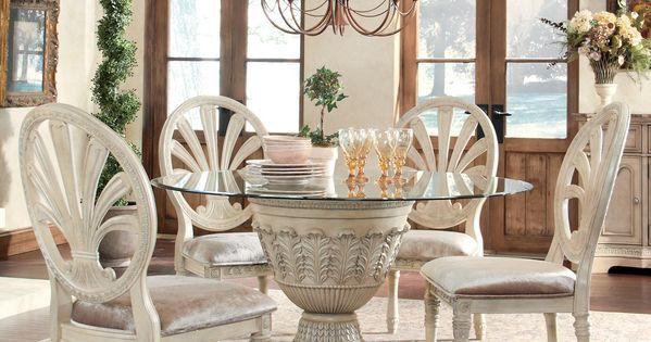Ortanique 5 Piece Glass Top Table Set by Ashley Millennium  : efd368d167dd6c13ba8c18ea07f51009 from www.pinterest.com size 600 x 315 jpeg 45kB