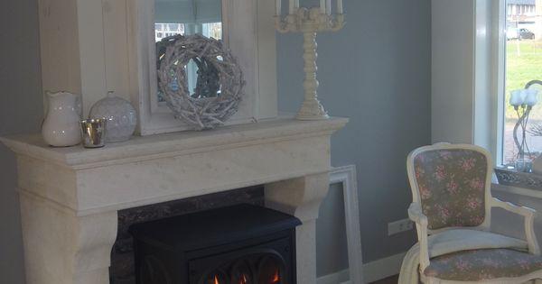 Schouw en haard thuis pinterest fire places stove and wood burning - Haard thuis wereld ...