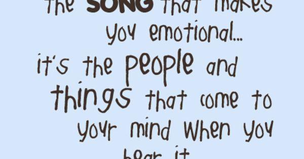 So true ... Music quote