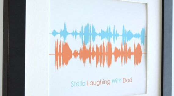My Baby 39 S Laugh Unique Voice Message Gift For Dad Husband