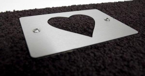 Keilbach Schuhabstreifer Heart Schuhabstreifer Keile Design Leuchten