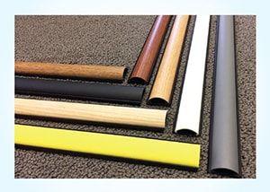 6 Ft Pvc Floor Cord Cover Kit Tan Cord Cover Floor Cord