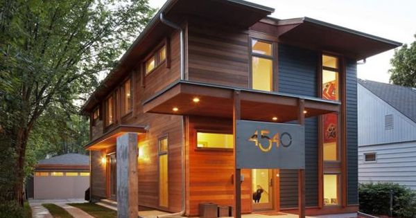 Eco Friendly Modern House Design Combines Energy Efficient Features With Modest Budget
