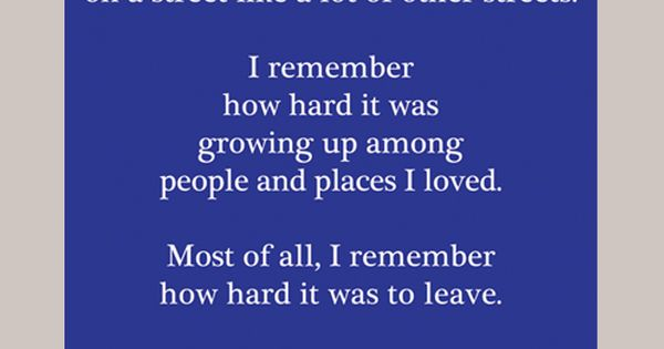 Wonder Years quote about growing up and moving on. A GREAT ...