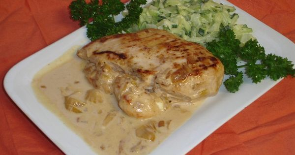 Poulet au fromage | French cuisine | Pinterest