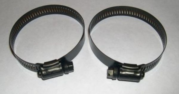 Stainless Steel/Black Oxide Hose Clamp #36, Pack of 2 ...