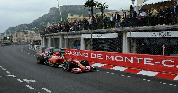 grand prix monaco 2014 depart