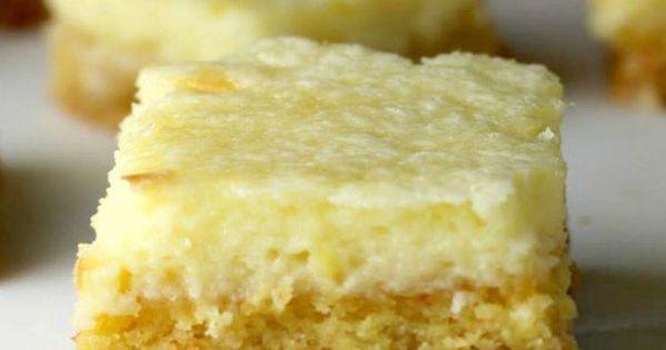 Ooey Gooey Salted Caramel Butter Cake Bars | Recipe | Cake Bars ...