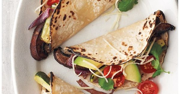 Portobello and Zucchini Tacos | Meatless: More Than 200 of the Very ...