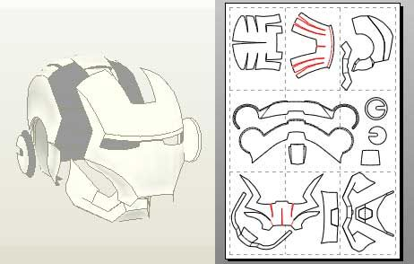 Pin On Iron Man Mask