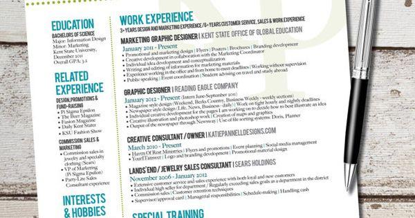 marketing resume design - Google Search